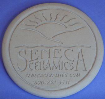 Seneca Ceramics Logo in Mullite