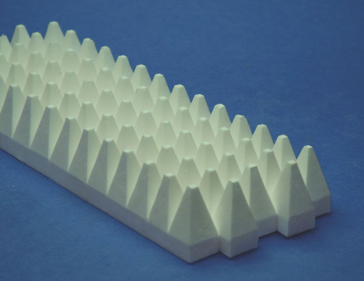 aluminum oxide monolithic complex shape